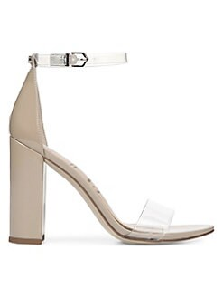 dff9319b3cb QUICK VIEW. Sam Edelman. Yaro Vinyl   Leather Ankle Strap Heels