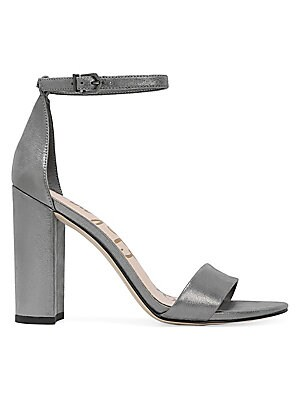 e6455d807533a Sam Edelman - Yaro Leather Ankle-Strap Sandals - saks.com