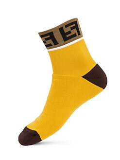 6ce0336e766a8d FF Logo Trim Socks YELLOW. QUICK VIEW. Product image