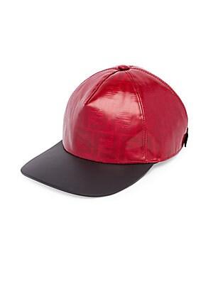 Fendi - FF Vetrificato Baseball Hat 406f8ac0c2f4