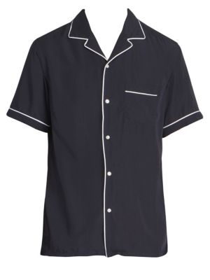 Jeffrey Piped Bowling Shirt by Officine Generale