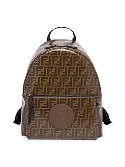 Fendi. FF Vetrificato Print Backpack 7eade6371540d
