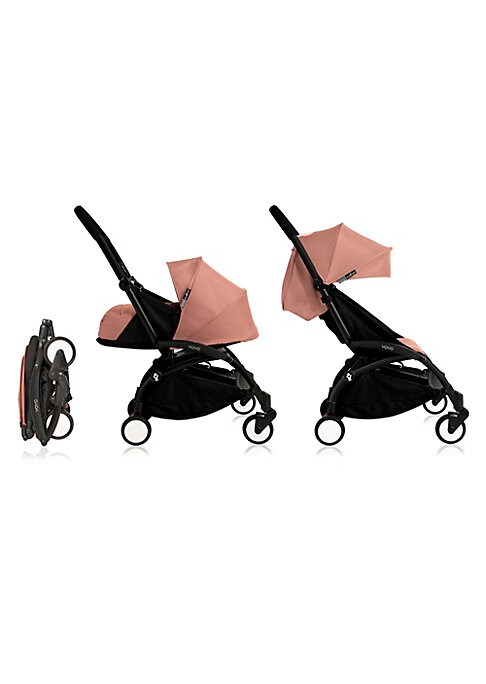 Image of An agile and lightweight stroller made for easy commuting and air travel convenience with your little one. Exclusive soft-drive system, no need to lock front swivel wheel. Extendable canopies with UPF 50+ sun protection. Four-wheel suspension. Exclusive c