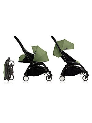 Image of Lovely baby stroller that is versatile, lightweight and portable so that you can bring your little one around with ease. One-hand folding, unfolding and driving Removable and entirely washable fabrics - XXL storage basket Extremely compact when folded the