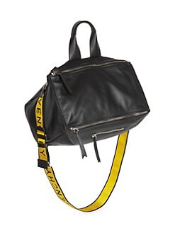 1c88b0bfe004 Givenchy. Pandora Leather Logo Bag