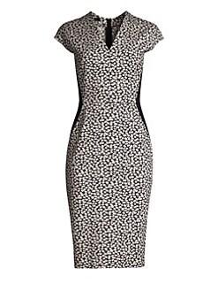 d69f09d692f6 Product image. QUICK VIEW. Escada. Delivia Daisy Jersey Sheath Dress