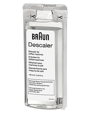 "Image of Eliminate the buildup of minerals in your coffee maker with this effective descaler to brew and sip on the perfect cup of coffee. Set of 2 3.38 fl oz. 0.79""W x 4.72""H x 4.10""L Made in Italy WARNING: Cancer and Reproductive Harm - www. P65Warnings. ca.gov."