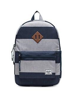 e41d45f4431 Herschel Supply Co. Heritage Border Stripe Youth Backpack