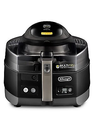 Image of DeLonghi's MultiFry Extra is an innovative cooking appliance that's both a low-oil fryer and a multicooker. Now, you can easily prepare a wide variety of your favorite recipes on your countertop - from crispy french fries to sauces, from steaks to salmon.