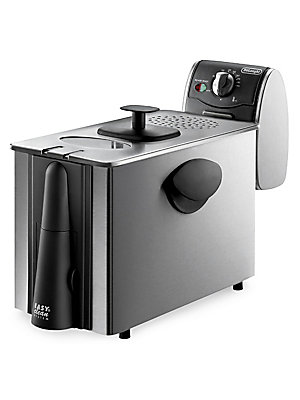 Image of A greatly functional update to your kitchen, this deep fryer serves the purpose of preparing perfect meals for your family. It is equipped with cool zone technology and adjustable thermostat with indicator light to prevent excessive heating and burning of