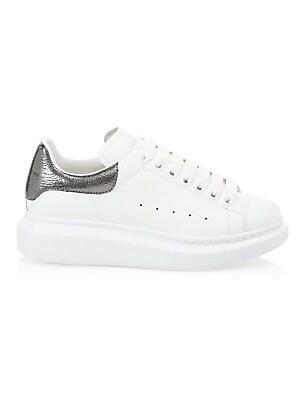 46d15de4d88c Alexander Wang - Pia Leather Chunky Sneakers - saks.com
