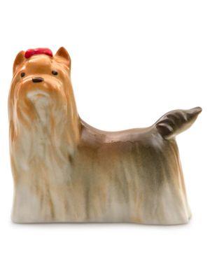 Imperial Porcelain Porcelain Yorkshire Terrier Figurine