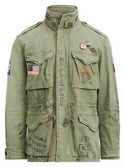 26eb68a382c57 QUICK VIEW. Polo Ralph Lauren. Herringbone Hooded Combat Jacket