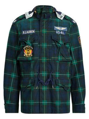 6f6ee4cff Polo Ralph Lauren - Water-Repellent Jacket - saks.com