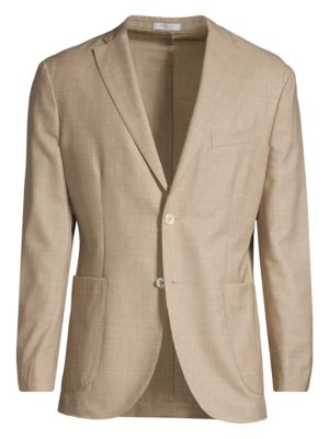 Boglioli Plain Weave Wool Jacket