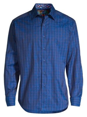 Robert Graham Gladstone Egyptian Cotton Shirt