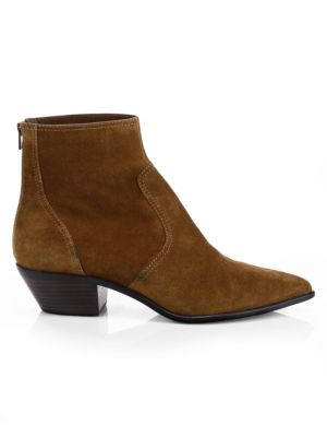 Joni Suede Point Toe Booties by Loeffler Randall