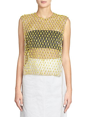 8ca1423fb6 Dries Van Noten - Paillette Pencil Skirt - saks.com