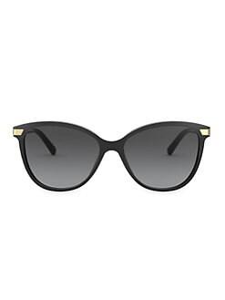 Burberry. 57MM Vintage Check Cat Eye Sunglasses ffe52385a89