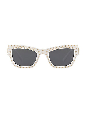 bff64465cb8 Versace - 0VE4361 53MM Hexagon Sunglasses - saks.com