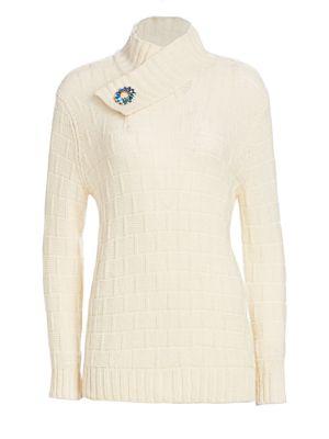 Calvin Klein 205w39nyc Tops Wool & Silk Middle Weight Turtleneck