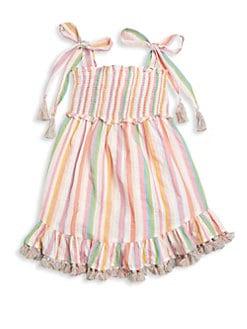 18af07df8d5b QUICK VIEW. Zimmermann Kids. Little Girl s   Girl s Heathers Shirred Stripe  Dress