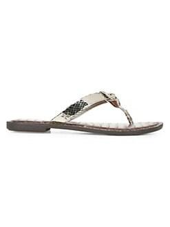 1de9f1660f0b Sam Edelman. Giles Leather Thong Sandals