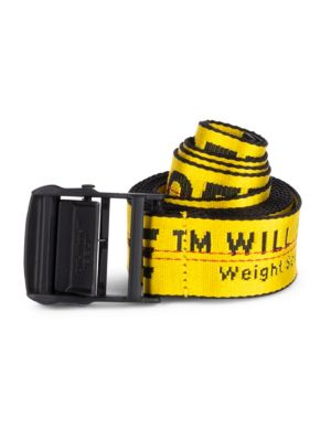 Industrial Logo Belt by Off White