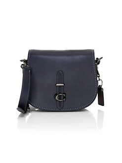 8540b720c102e6 Product image. QUICK VIEW. COACH. Leather Saddle Bag