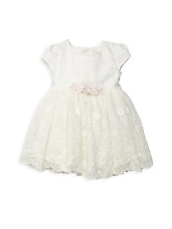 21e9fd57c Baby Girl's Lace Crinoline Dress IVORY. QUICK VIEW. Product image