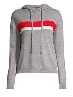 8e55aa92d Product image. QUICK VIEW. Generation Love. Olivia Two Stripe Cashmere  Hoodie