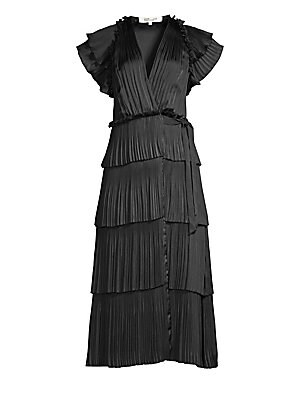 feb6fb0ce70 Diane von Furstenberg - New Jeanne Two Chain Wrap Dress - saks.com