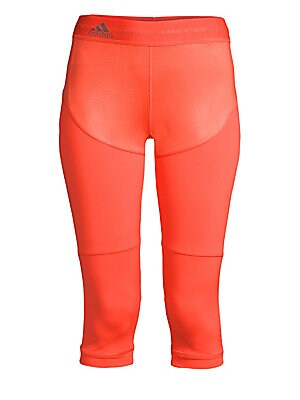 """Image of Bold logo adorns these iconic tights. Elasticized logo waist Pull-on style Recycled polyamide/spandex Machine wash Imported SIZE & FIT Rise, about 11"""" Inseam, about 17.5"""" Leg opening, about 10"""" Model shown is 5'10"""" (177cm) wearing US size Small. Contempor"""