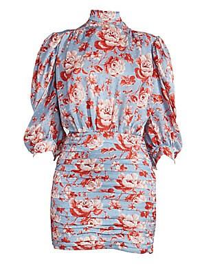 cdf3b471e6f9 Magda Butrym - Setubal Floral Dress - saks.com