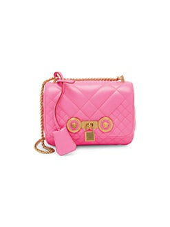 c79c2f3934 QUICK VIEW. Versace. Trapuntata Quilted Leather Handbag