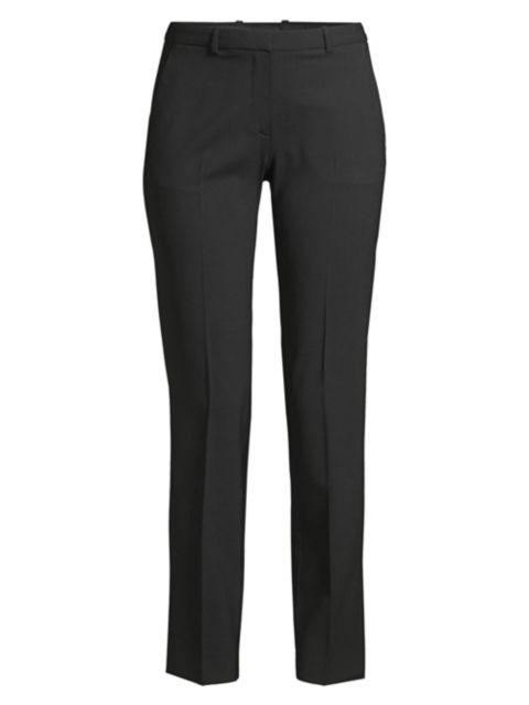 Theory Hartsdale Straight-Leg Wool Pants | SaksFifthAvenue