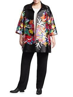600b0bd9a Plus Size Coats & Jackets | Saks.com