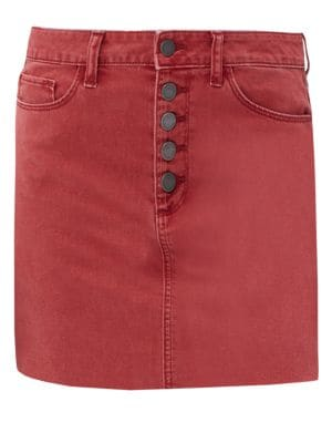 Paige Jeans Aideen Exposed Button Skirt