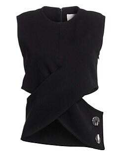 75eff05ee Short Sleeve Tops For Women   Saks.com