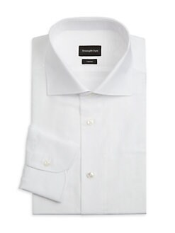 1cad5bc45 Cotton Dress Shirt WHITE STRIPE. QUICK VIEW. Product image