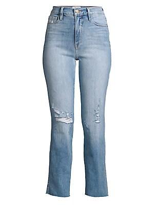 e1f61f6b56475 J Brand - Jules High-Rise Straight Leg Jeans - saks.com