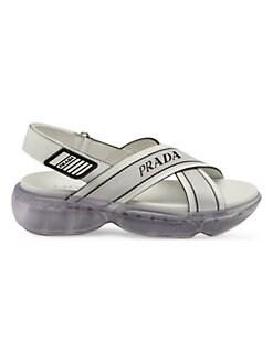 1840aa5fbe9 QUICK VIEW. Prada. Nastro Flat Sandals