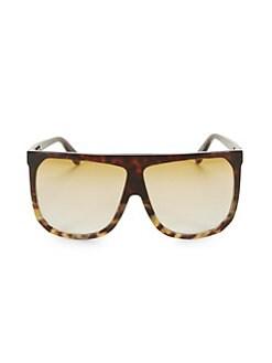 d97e9eb9a7ea Loewe. LW40001I 63MM Square Aviator Sunglasses