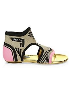 986c5a1f7b6b Product image. QUICK VIEW. Prada. Flat Thong Sandals