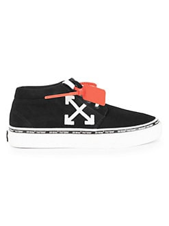 143119a5535a Off-White. Skate Low-Top Suede Sneakers