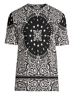 010a3988a56 Bandana Unity Cotton Tee BLACK. QUICK VIEW. Product image