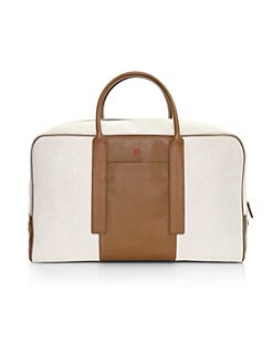 7e6135259fd6 QUICK VIEW. Isaia. Stripe Detail Canvas Bag