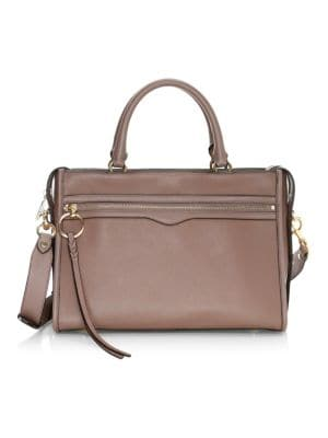 Bedford Leather Zip Satchel by Rebecca Minkoff