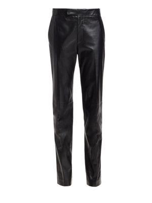 Helmut Lang Suits Leather Suit Pants