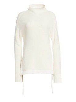 b08302102a67 QUICK VIEW. Helmut Lang. Military Ribbed Mockneck Sweater